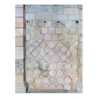 Detail der Wand der Krypta von St Paul Postkarte