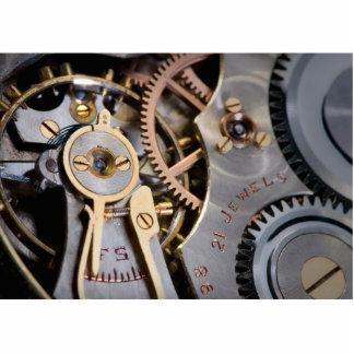 Detail einer Taschenuhr Fotoskulptur Schlüsselanhänger