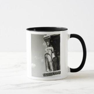 Detail eines Caryatid vom Erechtheion Tasse
