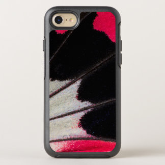 Detail-Flügel-Muster des tropischen OtterBox Symmetry iPhone 8/7 Hülle