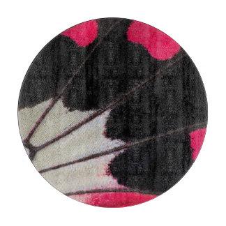 Detail-Flügel-Muster des tropischen Schneidebrett