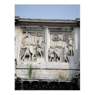 Detail vom Bogen Constantine Postkarte