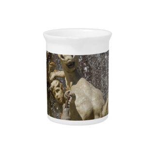 Detail von Fontana d'Artemide, Ortigia Getränke Pitcher