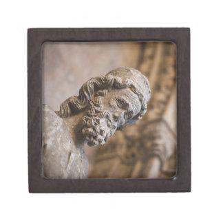 Detail von Klöster Patriarch Zacarias Statue Schmuckkiste