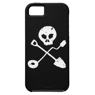 Detectorist Skull - Sondengänger Schädel iPhone 5 Schutzhülle
