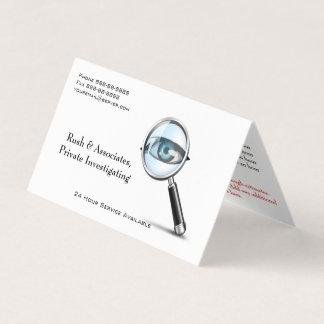 Detektiv-Detektiv-Visitenkarte Visitenkarten