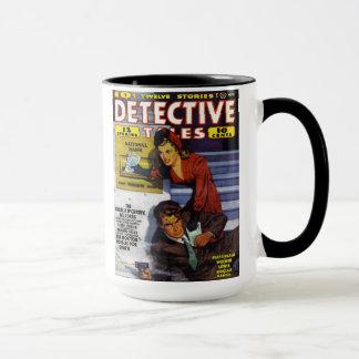 """""""Detektiv-Geschichten-"""" Kaffee-Tasse Tasse"""