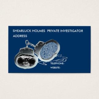 Detektiv Visitenkarten