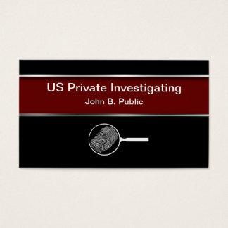 Detektiv-Visitenkarten Visitenkarte