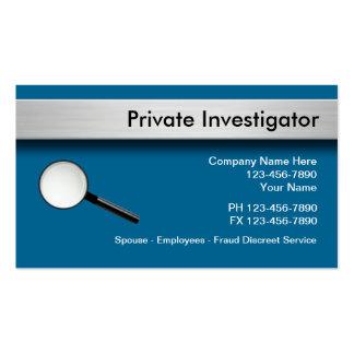 Detektiv-Visitenkarten Visitenkarten