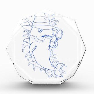 Detektivorca-Mörder-Wal-Zeichnen Acryl Auszeichnung