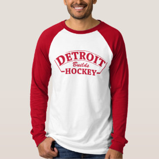 Detroit errichtet langen T - Shirt Hülse des