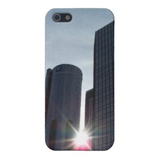 Detroit-Gebäude iPhone 4 Fall iPhone 5 Schutzhülle