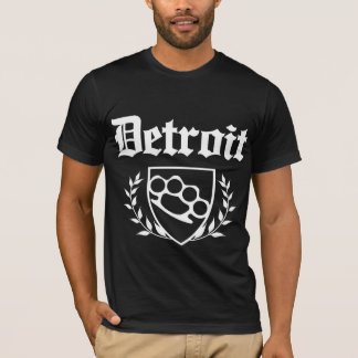 Detroit - Messingknöchel-Wappen T-Shirt