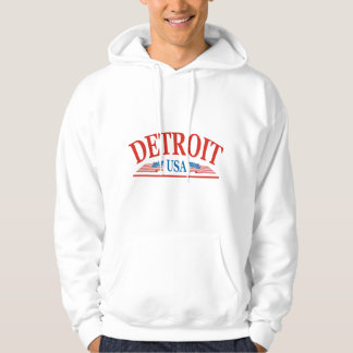 Detroit Michigan USA Hoodie