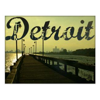 Detroit Postkarte