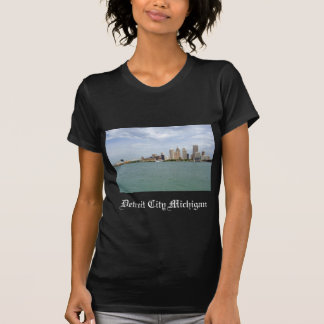 Detroit-Stadt Michigan T-Shirt