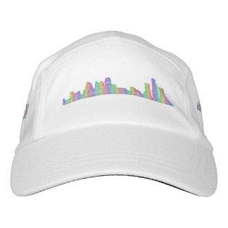 Detroit-Stadt-Skyline Headsweats Kappe