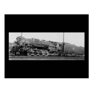 Detroit Toledo u. Ironton Eisenbahn-Motor 811 Postkarte