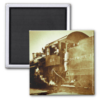 Detroitterminaleisenbahn-Motor #24 Quadratischer Magnet