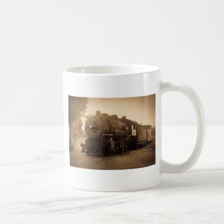 Detroitterminaleisenbahn-Motor bei Adrian MI Kaffeetasse