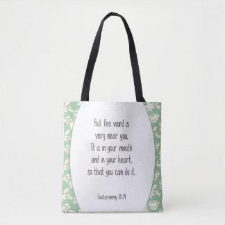 Deut. 30:14 aber das Wort ist sehr nahe Ihnen… Tasche