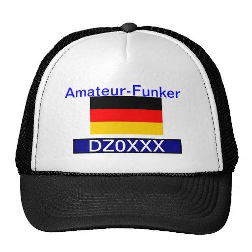 Deutsch-Amateurfunk Kappe.