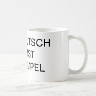 Deutsch ist simpel TASSE