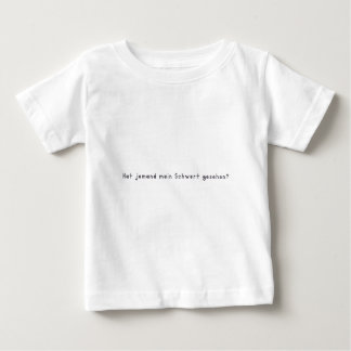 Deutsch - Klinge Baby T-shirt