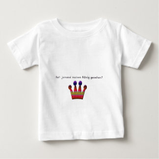 Deutsch - König Baby T-shirt