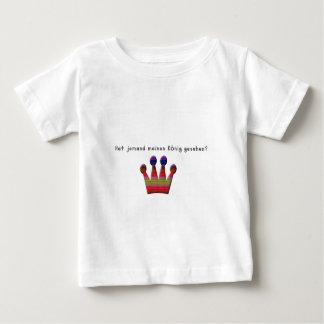 Deutsch - König Baby T-shirt