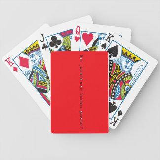 Deutsch - Schloss Bicycle Spielkarten