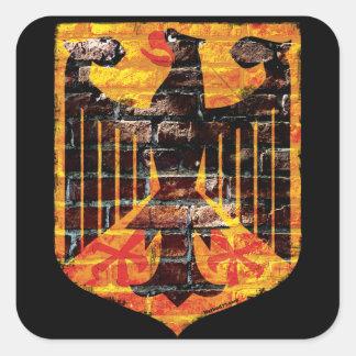 Deutsche Adler-Wappen-Aufkleber