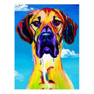Deutsche Dogge #4 Postkarte