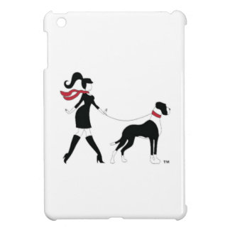 Deutsche Dogge und Mädchen iPad Mini Hüllen