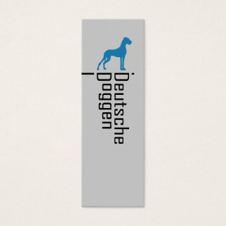 Deutsche Doggen Visitenkarten