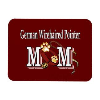 Deutsche Drahthaar-Zeiger-Mamma-Geschenke Magnet