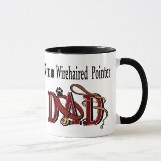 Deutsche Drahthaar-Zeiger-Vati-Geschenke Tasse