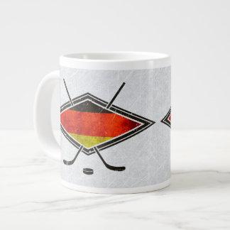 Deutsche Eis-Hockey-Flaggen-Tasse Jumbo-Tasse