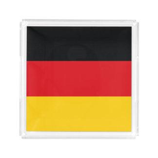 Deutsche Flagge Acryl Tablett