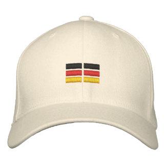 Deutsche Flagge Bestickte Baseballkappe