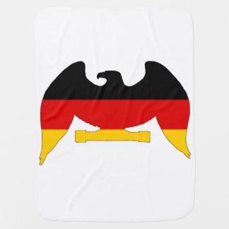 Deutsche Flagge Eagle Babydecke