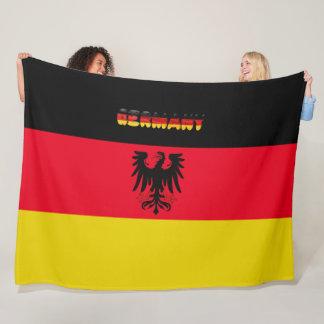 Deutsche Flagge Fleecedecke