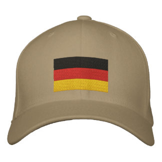 Deutsche Flagge gestickte Kappe