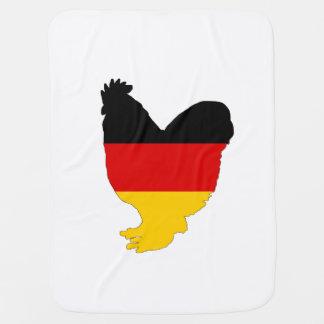 Deutsche Flagge - Hahn Kinderwagendecke