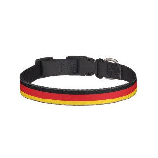 Deutsche Flagge Haustierhalsband