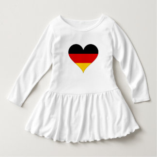 Deutsche Flagge - Herz Kleid