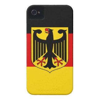 Deutsche Flagge iPhone 4 Case-Mate Hüllen