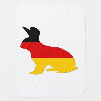 Deutsche Flagge - Kaninchen Puckdecke