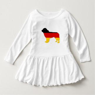 Deutsche Flagge - Neufundland-Hund Kleid